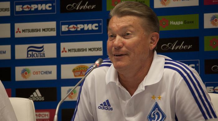 """Олег Блохин: """"Спасибо болельщикам, которые поддерживали нас все 90 минут"""""""