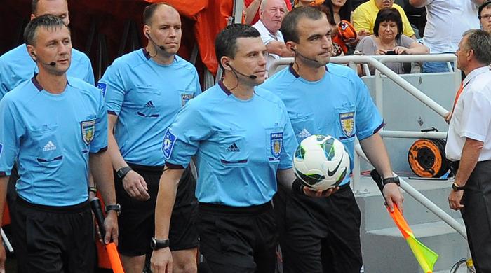 Судейские назначения на 1/8 финала Кубка Украины
