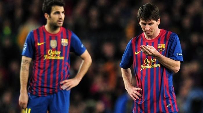 """Фабрегас: """"Никогда не думал об уходе из """"Барселоны"""""""
