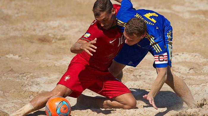 Пляжный футбол. Суперфинал Евролиги-2013. Португалия - Украина 1:2. Без очков не остались