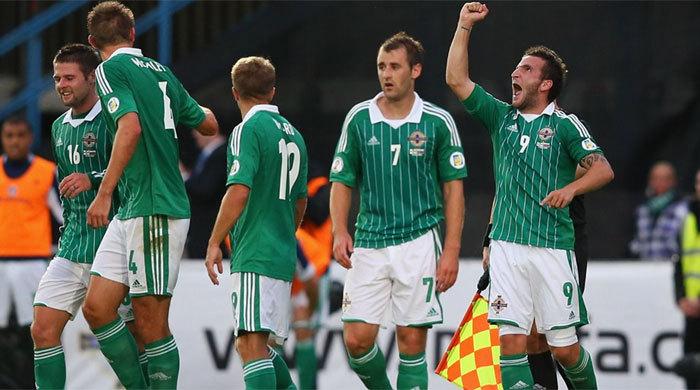 Отбор к ЧМ-2014. Северная Ирландия - Россия 1:0. Медленно и неправильно