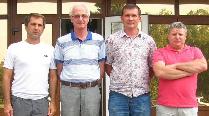 "Милетий Бальчос посетил ФК ""Макеевуголь"""
