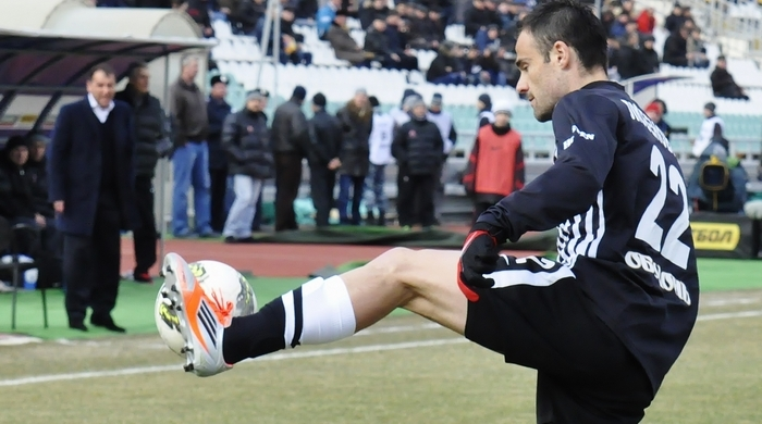 Желько Любенович сыграл 200-й матч в Премьер-лиге