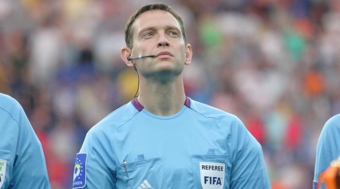 Украинским рефери доверили матч отбора Евро-2016