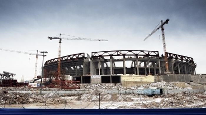 """К новому стадиону """"Зенита"""" могут построить пешеходный мост за 1,5 миллиарда рублей"""