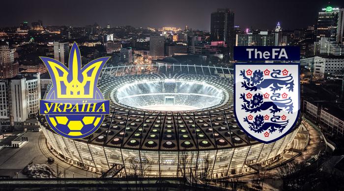 Украина - Англия. Анонс матча