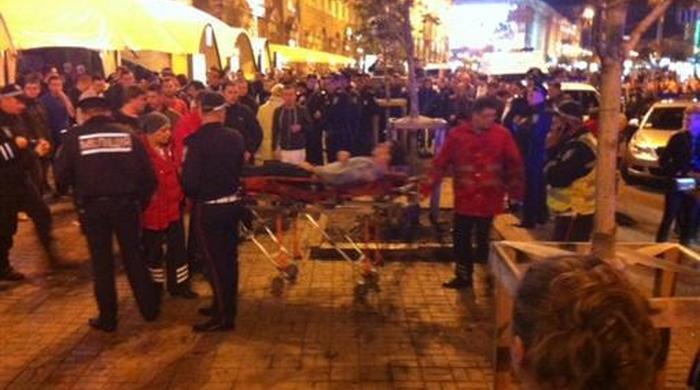 Избитые английские болельщики выписаны из больницы