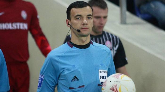 Сергей Бойко - первый украинский арбитр в еврокубковой весне
