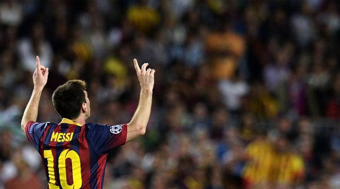 Лионель Месси забил свой 60-й мяч в Лиге чемпионов