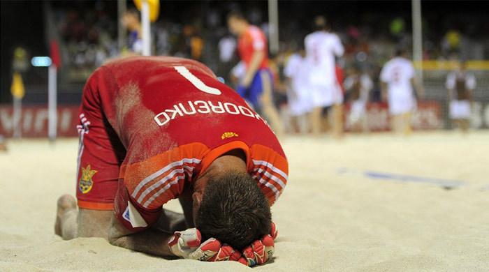 ЧМ-2013 по пляжному футболу. Иран – Украина 2:3. Цена одного гола