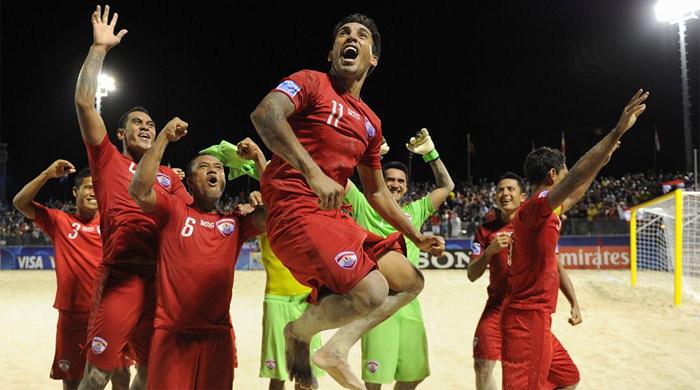 ЧМ-2013 по пляжному футболу. Четвертьфиналы. Удивительное рядом: Таити громит Аргентину