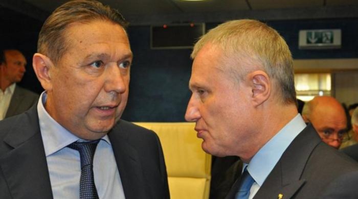 Анатолій Коньков та Григорій Суркіс домовились про спільні дії
