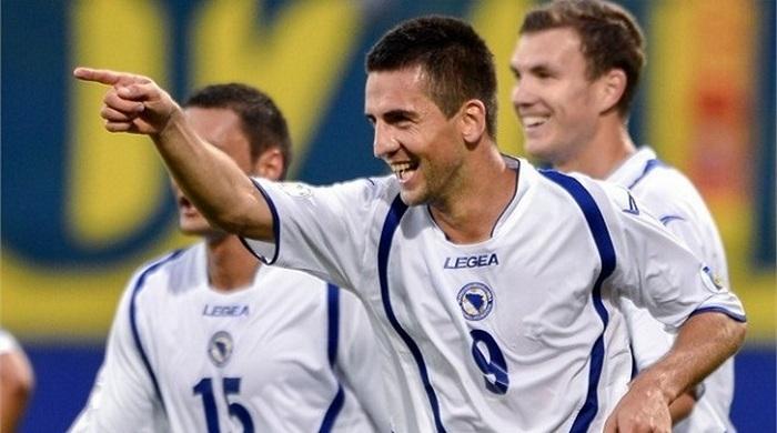 Сборная Боснии и Герцеговины впервые в истории вышла в финальную часть чемпионата мира