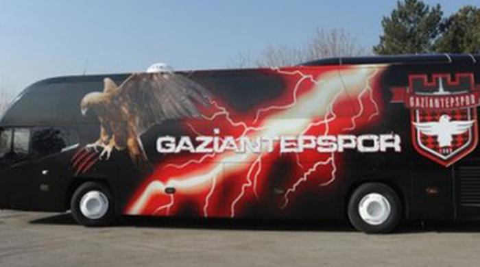 У команды Артема Милевского за долги отобрали автобус