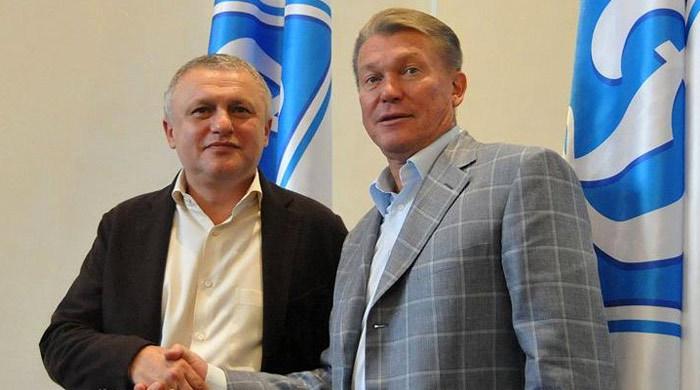 "Игорь Суркис: ""Блохин адекватно воспринял ситуацию"""