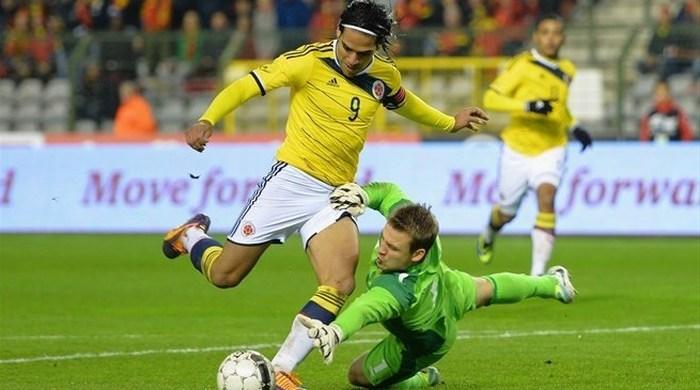 Контрольный матч. Бельгия - Колумбия 0:2. Бельгия понюхала пороху