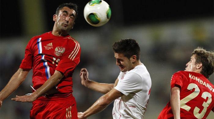 Контрольный матч. Россия - Сербия 1:1. Для галочки