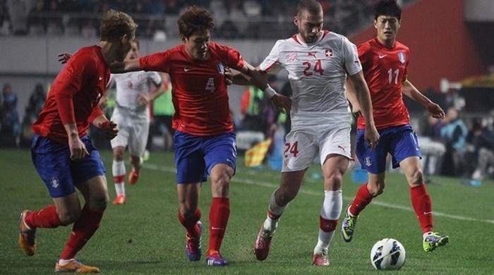 Контрольный матч. Корея - Швейцария 2:1. Сеул воспрял