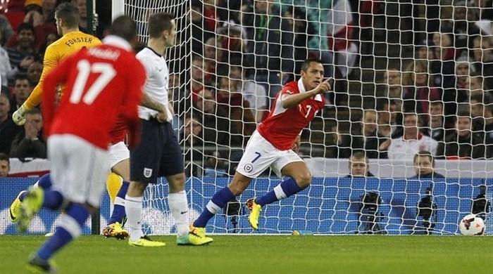"""Контрольный матч. Англия - Чили 0:2. Бенефис Санчеса на """"Уэмбли"""""""