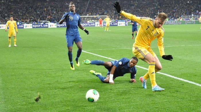 Украина - Франция 2:0. С нашим атаманом не приходится тужить!