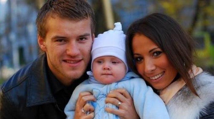 Андрей ярмоленко и его девушка