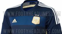 Стал известен запасной вариант новой формы сборной Аргентины (+ фото)