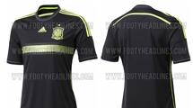 Стал известен запасной вариант новой формы сборной Испании (+ фото)