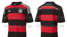 Запасная форма сборной Германии на чемпионате мира будет черно–красной (+фото)