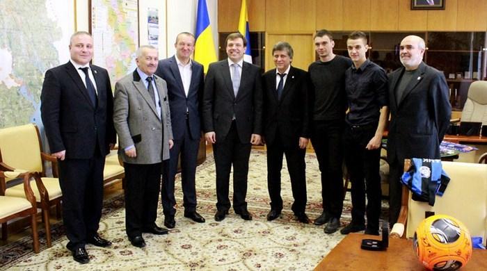 """Черноморец"": встреча с губернатором"