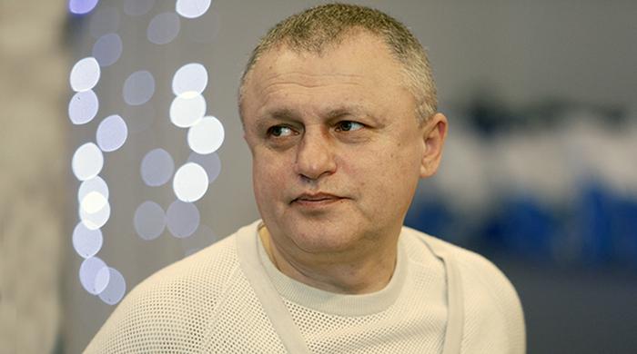 Новогоднее поздравление Игоря Суркиса