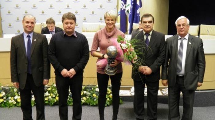 Ірина Зварич - найкраща футболістка України 2013 року!