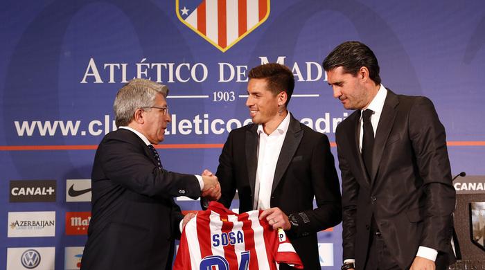 """Президент """"Атлетико"""": """"Соса, несомненно, усилит нашу команду"""""""