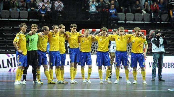 Збірна України з футзалу розпочала тренувальний збір напередодні Євро-2014