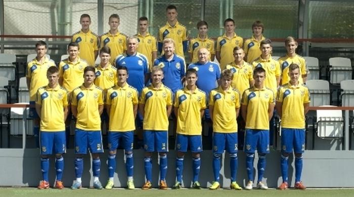 Сборная Украины (U-17) разгромила Литву