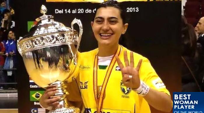 Лусиэлла Минуццо - лучшая футзалистка 2013 года (+видео)