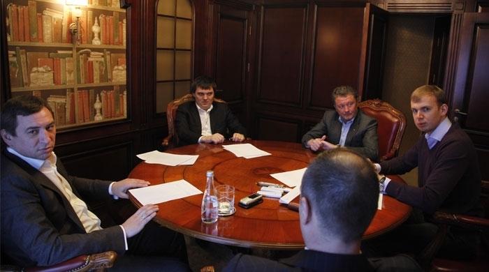 Курченко встретился с Маркевичем, Воликом и Красниковым