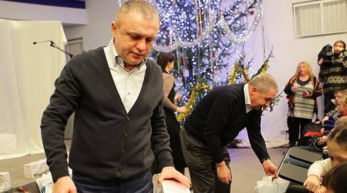 Динамовцы поздравили детей-чернобыльцев