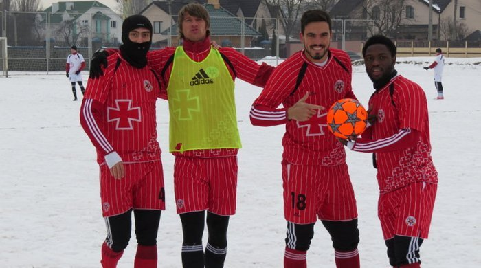 """""""Волинь"""": футбол на снігу (+фото)"""