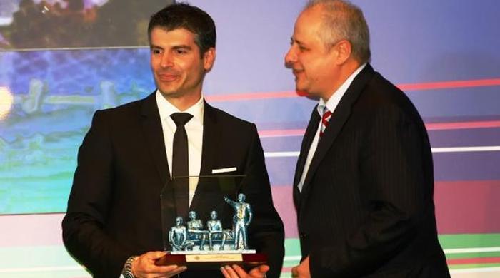 Уволенного в Украине тренера признали лучшим в Греции