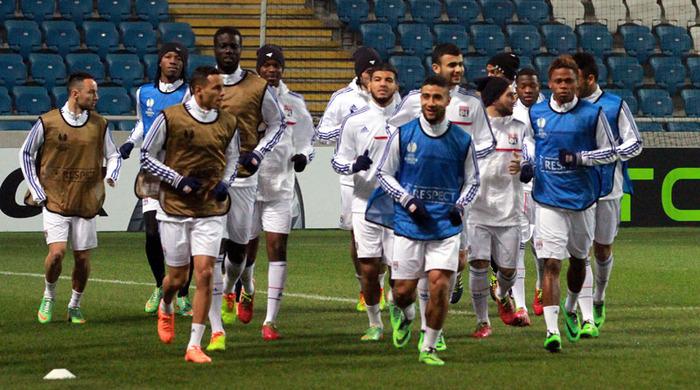 """Лион"" провел тренировку на стадионе ""Черноморец"" (фото)"