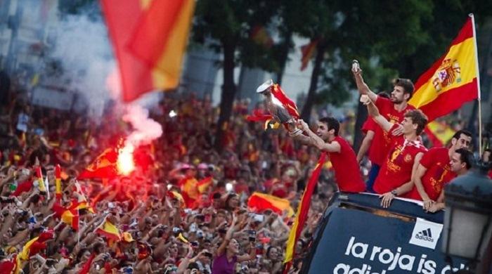 Игроки сборной Испании в случае победы на ЧМ получат по 720 тысяч евро