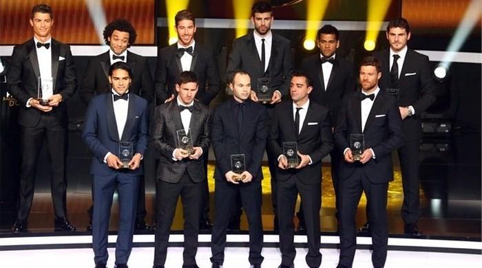 Определена символическая сборная 2012-го по версии ФИФА