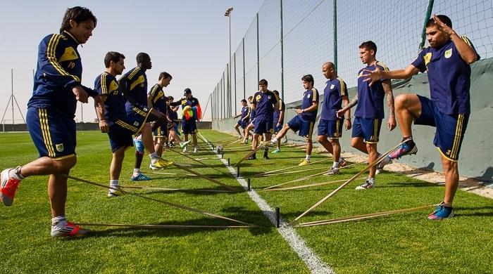 """""""Металлист"""" в ОАЭ: тренировка после отдыха (Фото)"""