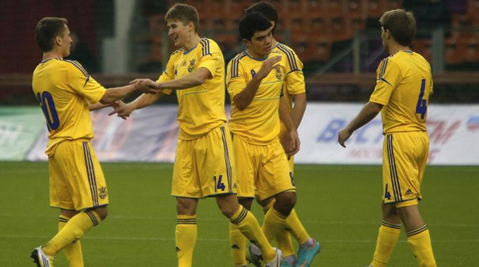 Кубок Содружества. Украина (U-21) - Литва (U-21) 3:0. Видео