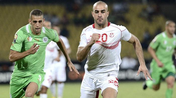Кубок Африки. Тунис - Алжир 1:0. Стояли до конца