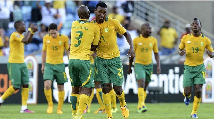 Кубок Африки. ЮАР - Ангола 2:0. Мажоро решает!