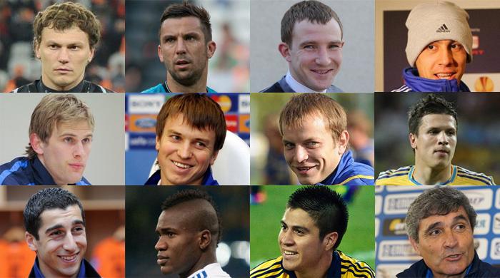 Символическая сборная 2012-го года по версии читателей FootBoom.com
