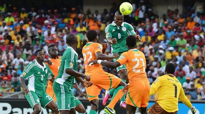Кубок Африки. Кот-д'Ивуар - Нигерия 1:2. Мба и Бамба