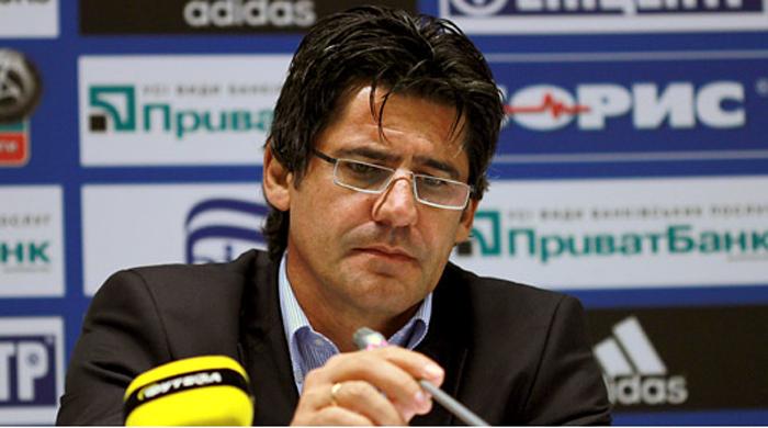 Николай Костов провёл сотый матч в украинской элите на посту тренера