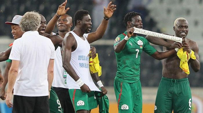 Кубок Африки. Буркина-Фасо - Гана 1:1 (3:2 - пен). Буркинийцы сильнее ганцев и судьи